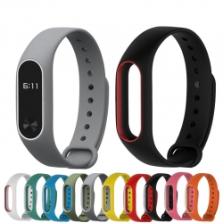 Bakeeytrade-Double-Color-Replacement-Silicone-Wrist-Strap-Watch-Band-for-XIAOMI-Miband-2-1153177
