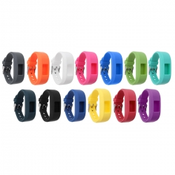 Bakeey-Replacement-Soft-Silicone-Wrist-Watch-Band-Strap-For-Garmin-Vivofit-3-1331742