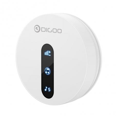 DIGOO DG-SD10 Transmitter Self-powered Waterproof Doorbell EU/US/UK Plug Unique Sliding Button 58 Melodies 4 Levels Volume Adju