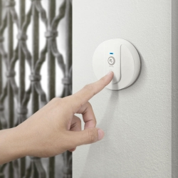DIGOO-DG-SD10-Transmitter-Self-powered-Waterproof-Doorbell-EUUSUK-Plug-Unique-Sliding-Button-58-Melodies-4-Levels-Volume-Adjustm