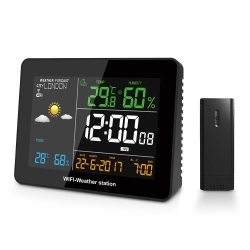 DIGOO-DG-TH8788-WIFI-Weather-Station-APP-Remote-Setting-Automatic-Connect-Smart-Home-Multifunction-Thermometer-Hygrometer-131886