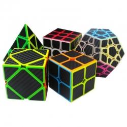 5Pcs-Per-Box-Carbon-Fibre-Magic-Cube-Pyraminx-Dodecahedron-Axis-Cube-2x2-And-3x3-Cube-Speed-Puzzle-1201688