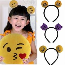 Cute-Lovely-Hair-Accessories-3D-Emoji-QQ-Expression-Hair-Clasp-Hair-Band-1041532