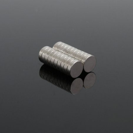 """100PCS Neodymium Disc 1/5""""x1/16"""" Super Strong Rare Earth Magnet 5x1.5mm Magnetic Toys"""