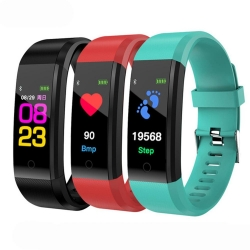 Bakeey-B05-096-Inch-TFT-Color-Display-Smart-Bracelet-Heart-Rate-Blood-Pressure-Monitor-Sport-Watch-1281890