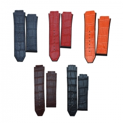 Replacement-25mm-Rubber-Leather-Watch-Band-Strap-For-Hublot-Big-Bang-1314648