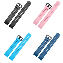 Bakeey-Replacement-Silicone-Colorful-Watch-Band-Strap-for-Huawei-Honor-Smart-Watch-Band-4-1399173