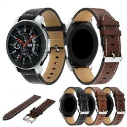 Bakeey-Replacement-leather-Watch-Band-Strap-Suitable-for-Samsung-Galaxy-46mm-Smart-Watch-1352672